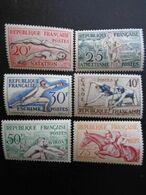 1953 - Y&T N° 960 à 965 ** - JEUX OLYMPIQUES D'HELSINKI - Unused Stamps