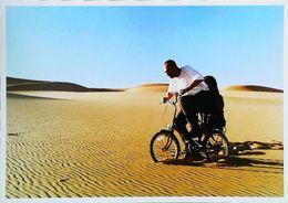 """Cpm VÉLO - Humour Paris Dakar  """"Wrong Camel 2005""""  Désert - Sport Moto"""