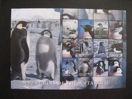 Territoire Antarctique Britannique: TB Feuille De La Série N° 419 Au N° 430, Neuve XX. - Britisches Antarktis-Territorium  (BAT)