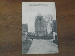 Environs D'HESDIN /AUBIN SAINT VAAST / La Vieille église - France