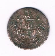 1/4 KREUZER 1816  OOSTENRIJK /6186/ - Austria