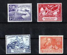 Falkland Islands Dependencies- Mint With Traces Of Hinge Remains - UPU, 1949 - Falklandinseln