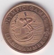 Norvege Jeton Olympic Games LILLEHAMMER 1994 Jeux Olympique - Gettoni E Medaglie