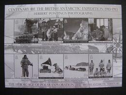 Territoire Antarctique Britannique: Feuille De La Série N° 516 Au N° 523, Neuve XX. - Britisches Antarktis-Territorium  (BAT)