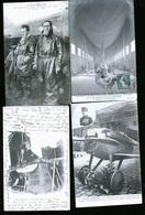GROSSE COLLECTION DE CARTES POSTALES AVIATION / AEROPLANES / BALLON / PHOTOS CARTES - 100 - 499 Cartes