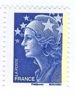 Beaujard TVP Bleu YT 4231 Avec Une Seule Bande De Phosphore à Droite . Rare , Voir Le Scan . Maury N° 4188b : 25 € . - Sin Clasificación