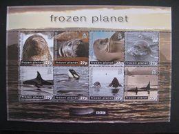 Territoire Antarctique Britannique: TB Feuille De La Série N° 628 Au N° 635, Neuve XX. - Britisches Antarktis-Territorium  (BAT)