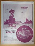 1924 Le Carburateur Zénith à Diffusion Multiple D'après Ato - Publicité - Publicidad