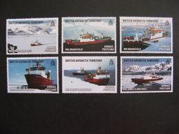 Territoire Antarctique Britannique: TB Série N° 544 Au N° 549, Neufs XX. - Britisches Antarktis-Territorium  (BAT)