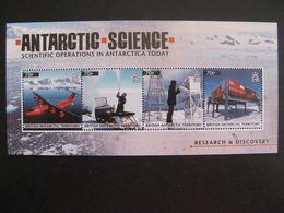 Territoire Antarctique Britannique: TB Feuille De La Série N° 556 Au N° 559, Neuve XX. - Britisches Antarktis-Territorium  (BAT)
