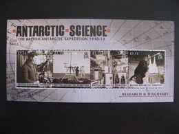 Territoire Antarctique Britannique: TB Feuille De La Série N° 560 Au N° 563, Neuve XX. - Britisches Antarktis-Territorium  (BAT)