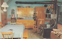 """LANCASTER, Pennsylvania, 1950-60s; """"Old Order"""" Kitchen At The Amish Farm And House - Lancaster"""