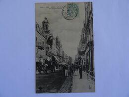 CPA  03 VICHY  La Rue  De Nimes Et L' Elysée-Palace Début 1900 TBE - Vichy