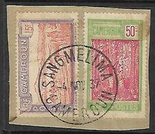 CAMEROUN N°119 Et 134   Belle Oblitération De Sangmélima - Cameroun (1915-1959)