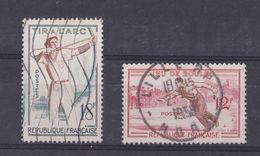 FRANCE   Y&T  N  1161 Et 1163  Oblitéré - Frankreich