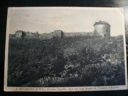 Sa Severino Rota Salerno Antico Castello Usata Settembre 1943 Per La Francia PM 112 Interssante - Italy