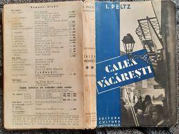 CALEA VACARESTI,I.PELTZ-ROMANIAN BOOK - Libros, Revistas, Cómics