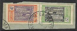 CAMEROUN N°114 Et 117   Belle Oblitération De M'Balmayo - Cameroun (1915-1959)