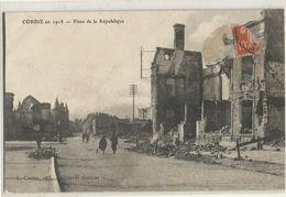 CORBIE EN 1918 PLACE DE LA REPUBLIQUE - Corbie