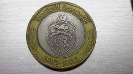 Tunisia 5 Dinar 2002   (A10.98) - Tunisia