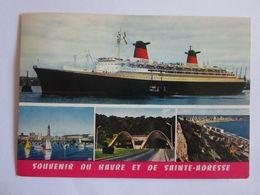 Transports > Bateaux > Paquebots Bateau Paquebot France Le Havre Saint Adresse - Non Classificati