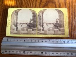 Stereo Photo Vers 1880 Vedute D'Italia  -  Forum Civil à Pompéi - Photographie