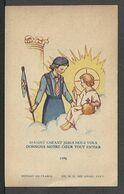 SANTINO SCOUT Con Preghiera Di Un'esploratrice - Images Religieuses