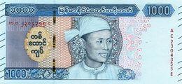 MYANMAR P. NEW 1000 K 2019 UNC - Myanmar