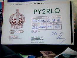 QSL CARD PETROPOLIS BRASlL  V1988 HQ10050 - Cartes QSL