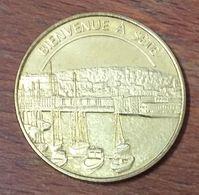 34 BIENVENUE À SÉTE MÉDAILLES ET PATRIMOINE JETON SANS DATE TOURISTIQUE MEDALS TOKENS COINS - Turistici