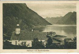 NORGE-NORWAY-NORVEGE-HELLESYLT VED SUNELVSFJORDEN - Postales
