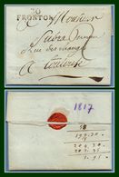 LAC 30 FRONTON 32 X 10 1817 Tx 2 > Toulouse (ind 10 > 70 €) TB - 1801-1848: Precursors XIX