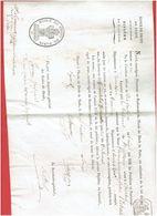 DIPLOME DE LICENCIE EN DROIT DU 3 SEPT. 1805 POUR L ECHALARD NE A TREMBLAY 28 TRIBUNAL DE CHARTRES AVOCAT JUSTICE JUGE - Diploma's En Schoolrapporten