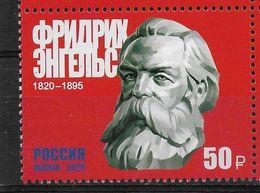 Russia 2020, 200th Anniversary Of Friedrich Engels, # 2615 VF MNH** - 1992-.... Federation