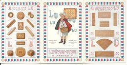 CARNET LU . DOUBLE DEPLIANT . SUPERBE - Publicidad