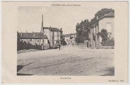 54 - Custines - Grande Rue 1919 - Autres Communes
