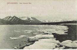 NORGE-NORWAY-NORVEGE-SPTZBERGEN-VED ADVENT BAY - Postales
