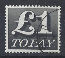 "GB....QUEEN ELIZABETH II.(1952-NOW.)..."" 1970.."".....£1...POSTAGE DUE.......SGD88......CDS....VFU.. - Tasse"