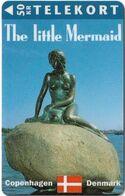 Denmark - TS - The Little Mermaid - TDTS019B - Sn. 4143, Exp. 30.09.96, 1.000ex, Used - Denmark