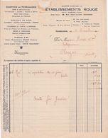 11-Ets Rougé...Comptoir De Ferronnerie...Narbonne...(Aude)..1931 - France