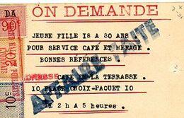 C12 Fiscaux Ville De Lyon Sur Immobilier Ou Ventes D'éffets - Ohne Zuordnung