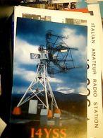 QSL CARD MONTALE RADIO MO ANTENNA   V1992 HQ10054 - Radio Amateur