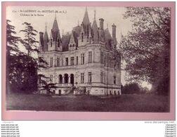 C.P.A  DE   ST - LAURENT - DU - MOTTAY  ( M. ET L.) ----  CHATEAU  DE LA  BARRE - Francia