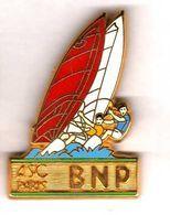 Pin's ASC BNP Voile Zamac  Ballard - Pin