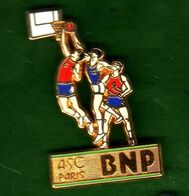 Pin's ASC BNP Basket Zamac  Ballard - Pin