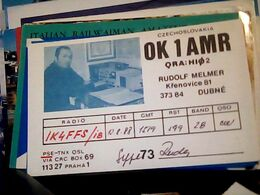 QSL CARD CZECHOSLOVAKIA  RADIO AMATORE DUBNE  PRAHA  V1988 HQ10060 - Cartes QSL