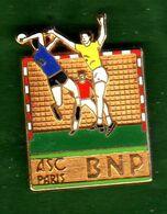 Pin's ASC BNP Hand Ball Zamac  Ballard - Pin