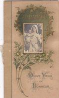 """ALMANACH. CALENDRIER ANNEE 1922 . """"  DOUZE VOEUX DE BONHEUR """". - Calendriers"""