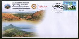 India 2020 Chikkanayakanahalli Dam Tumkurpex Special Cover # 18770  Inde Indien - Architecture