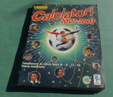 Album Calciatori Figurine Panini 2002- 2003 - Ottime Condizioni - Soccer